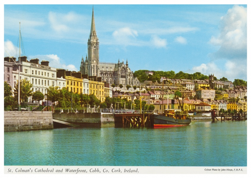 The John Hinde Archive photo St. Colman's Cathedral, Cork