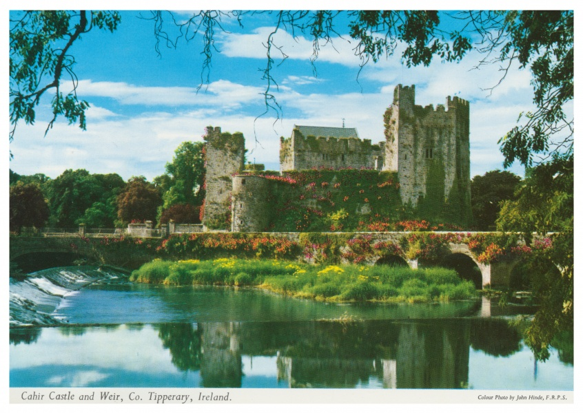 The John Hinde Archive photo Cahir Castle and Weir