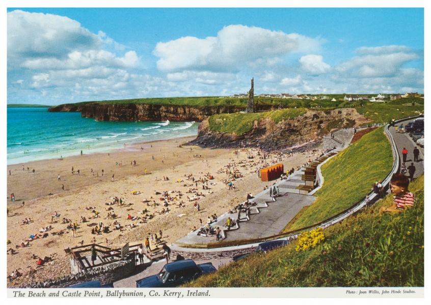 The John Hinde Archive photo The Beach and Castle Point, Ballybunion