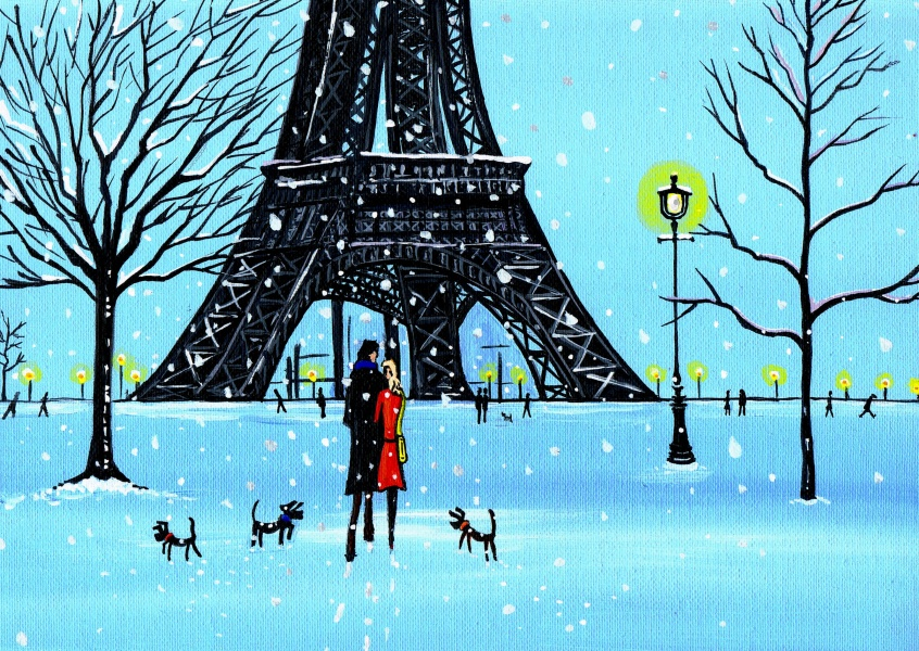 Illustration South London Artist Dan South London Artist Dan – Paris in wonderland