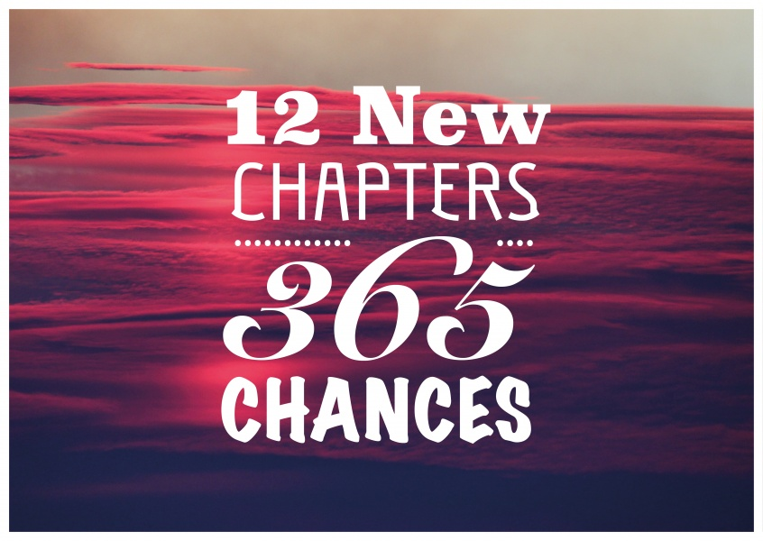 12 NEW CHAPTERS 365 CHANCES - Quote