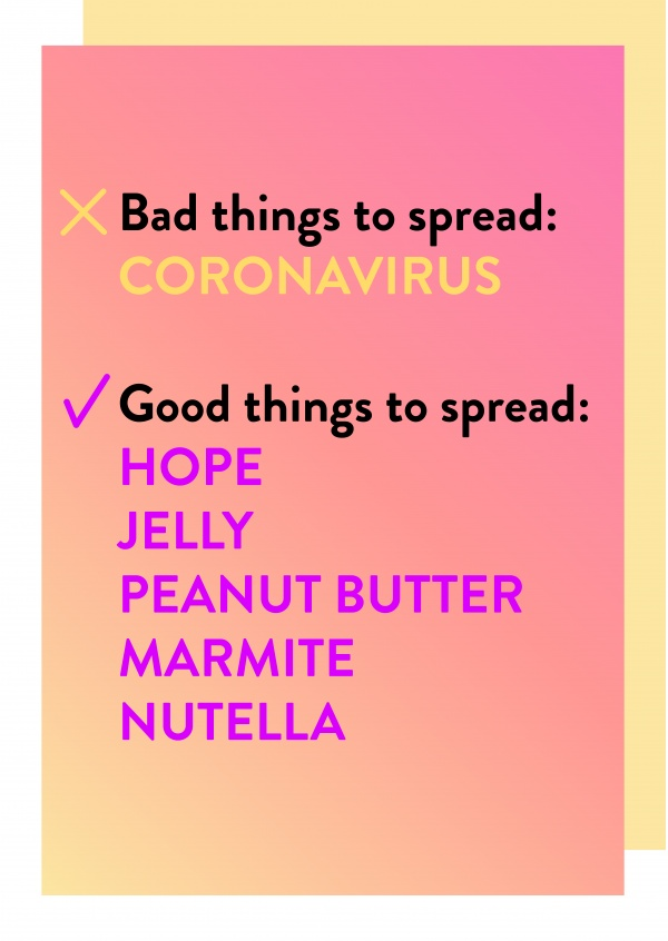 Bad/Good things to spread