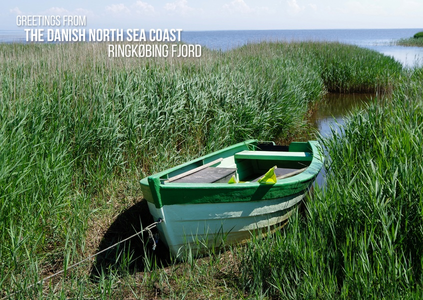 Greetings from the danish North Sea coast – Ringkøbing Fjord Søndervig