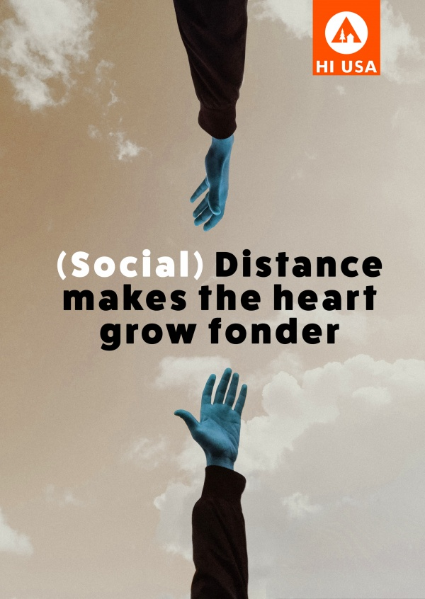Distance makes the heart grow fonder