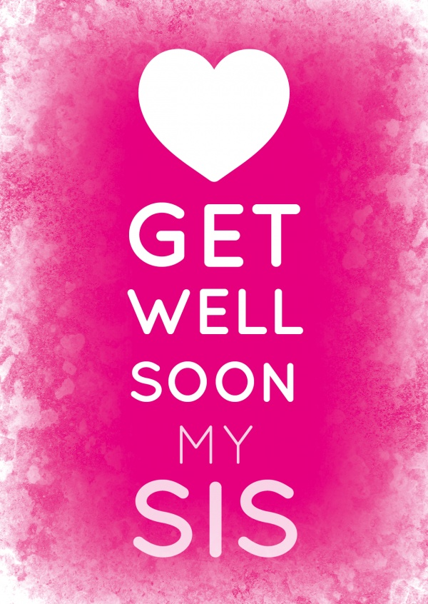 Personalized Get Well Soon Cards