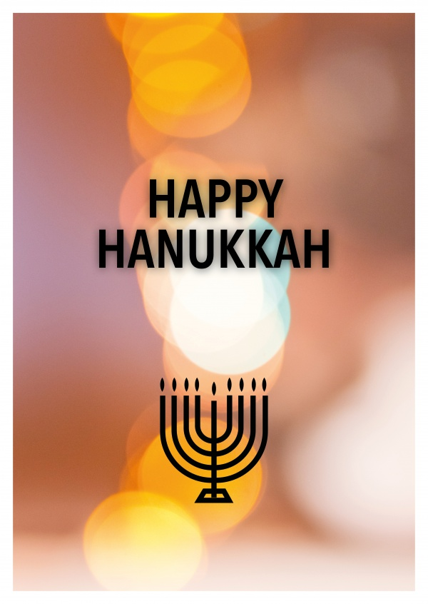 HAPPY HANUKKAH - CHANUKKA