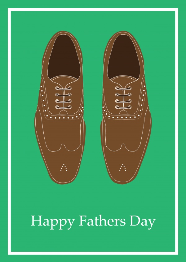 Happy Fathers Day - Brogue Shoes