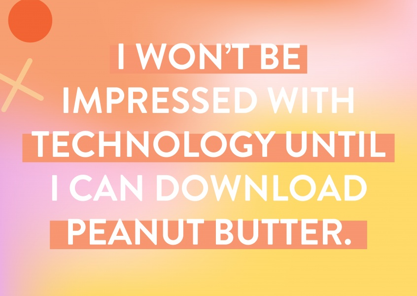 I WISH I CAN DOWNLOAD PEANUT BUTTER
