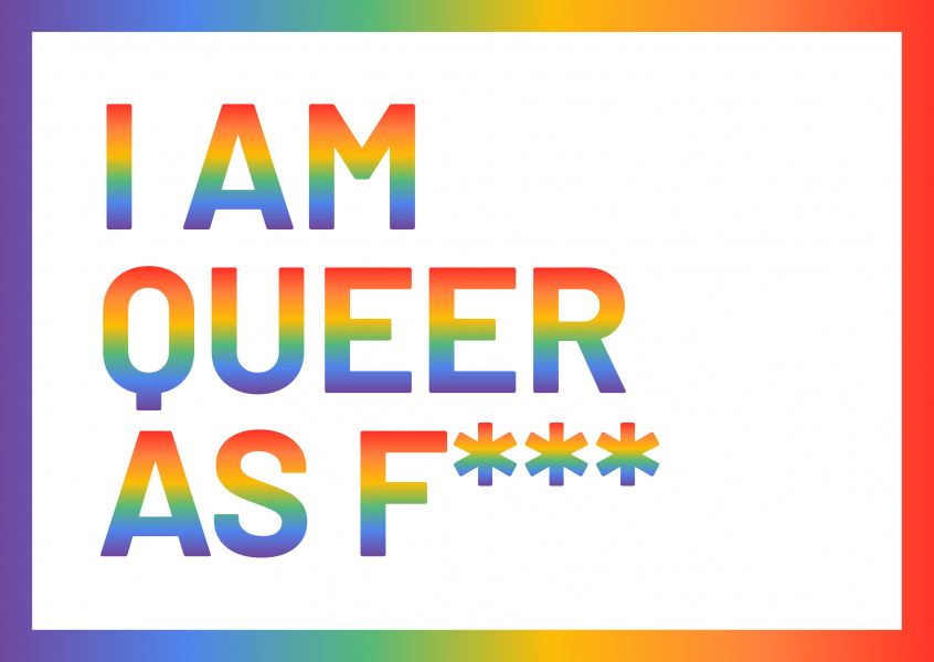 I am queer as f***