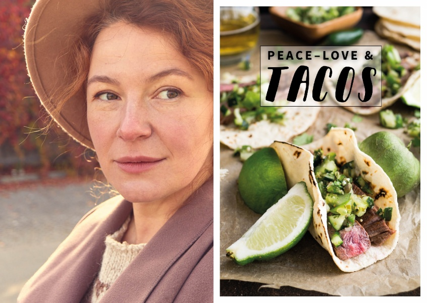 PEACE LOVE & TACOS - FOOD QUOTES