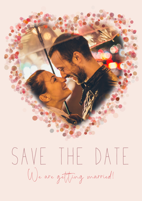 Save the date We are getting married