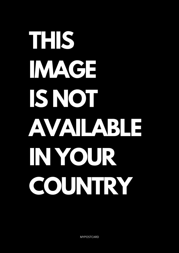 THIS IMAGE IS NOT AVAILABLE IN YOUR COUNTRY POSTKARTE