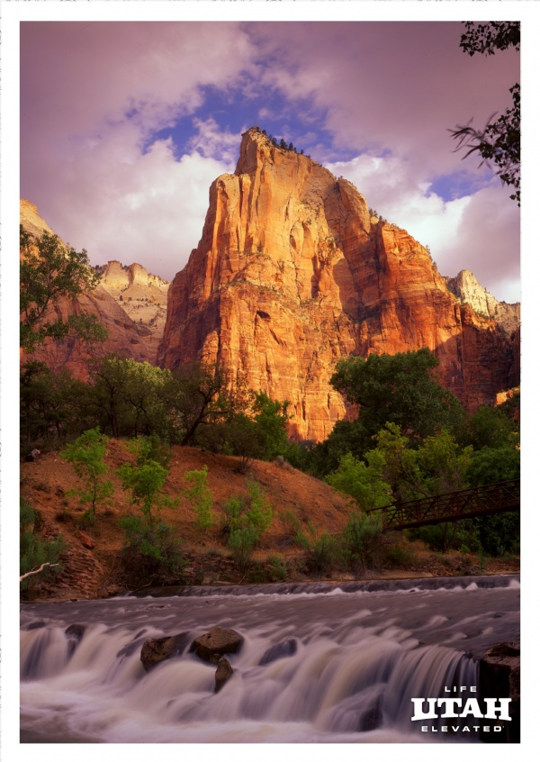 Virgin River Zion National Park