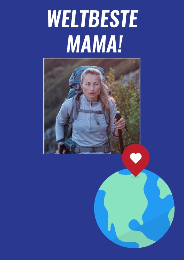 Worlds Best Mama Template