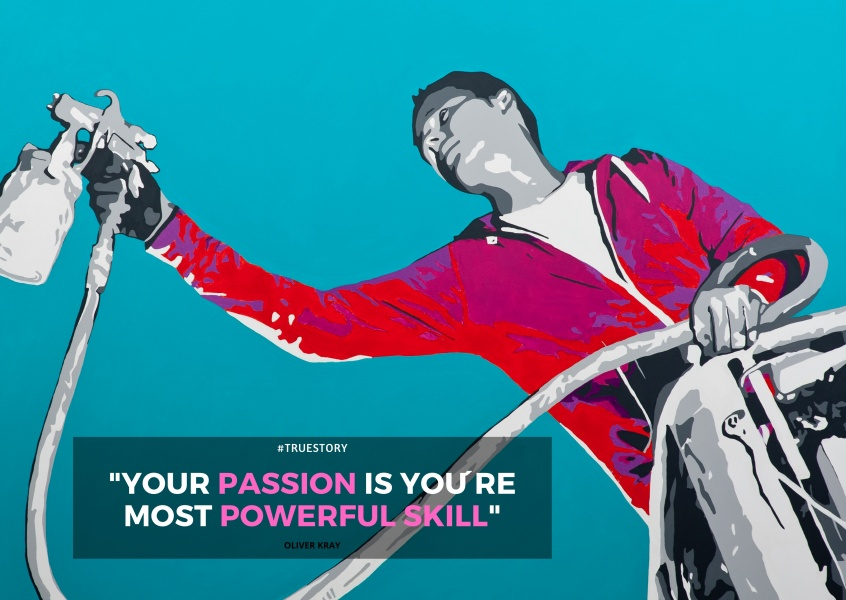 YOUR PASSION IS YOU´RE MOST POWERFUL SKILL