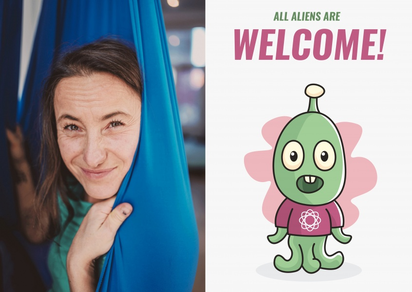 All aliens are welcome