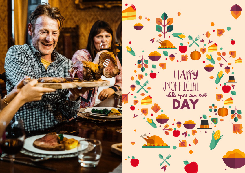 Happy unofficial all you can eat day!