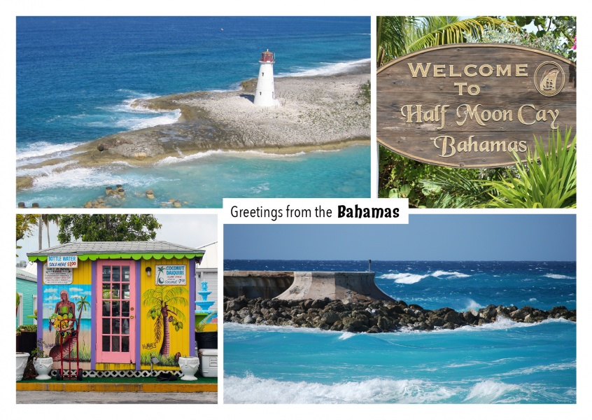 Bahamas photocollage
