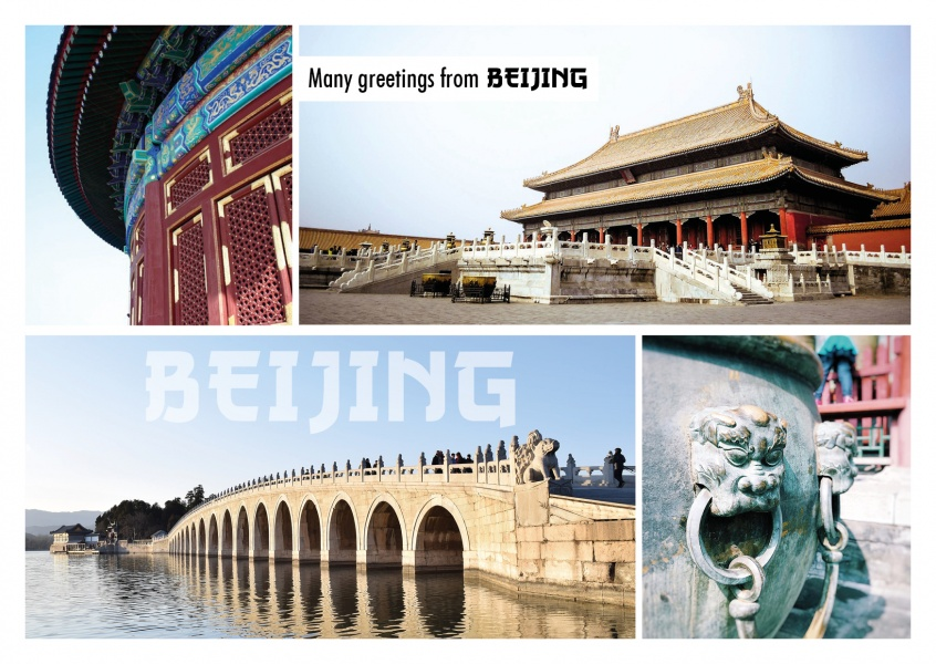 Photocollage Forbidden City