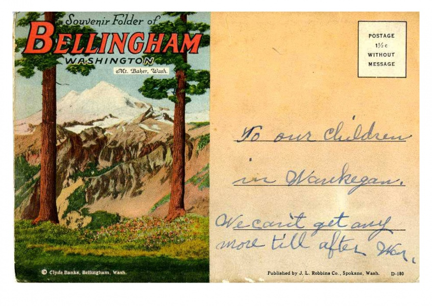 Curt Teich Postcard Archives Collection Bellingham, Washington