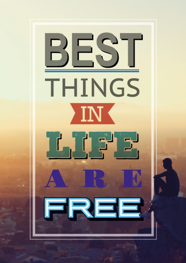 best things in life statements quotes cards send real