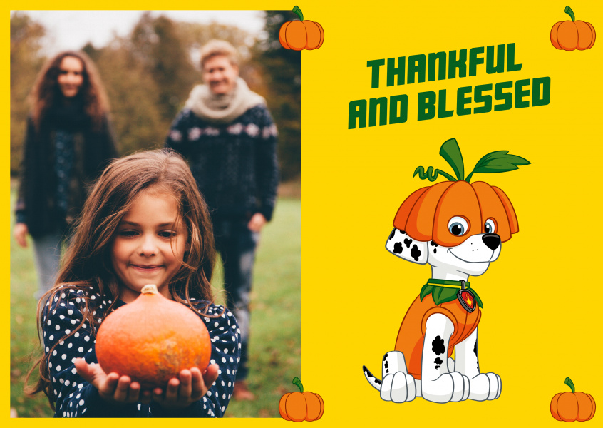 PAW Patrol Thankful and blessed