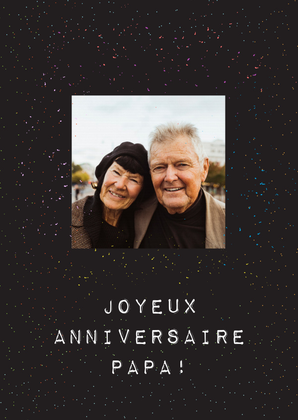 Joyeux Anniversaire Papa Birthday Cards Send Real Postcards Online