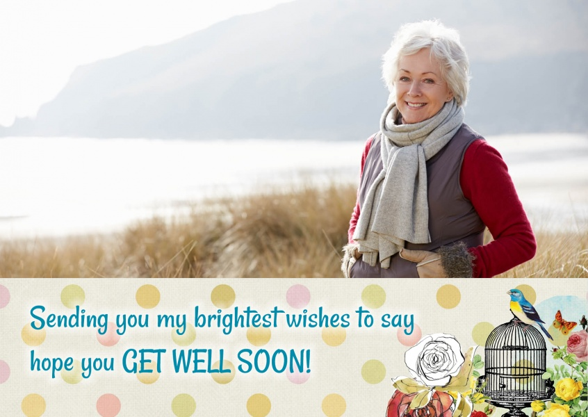 Sending you my brightest wishes greeting card
