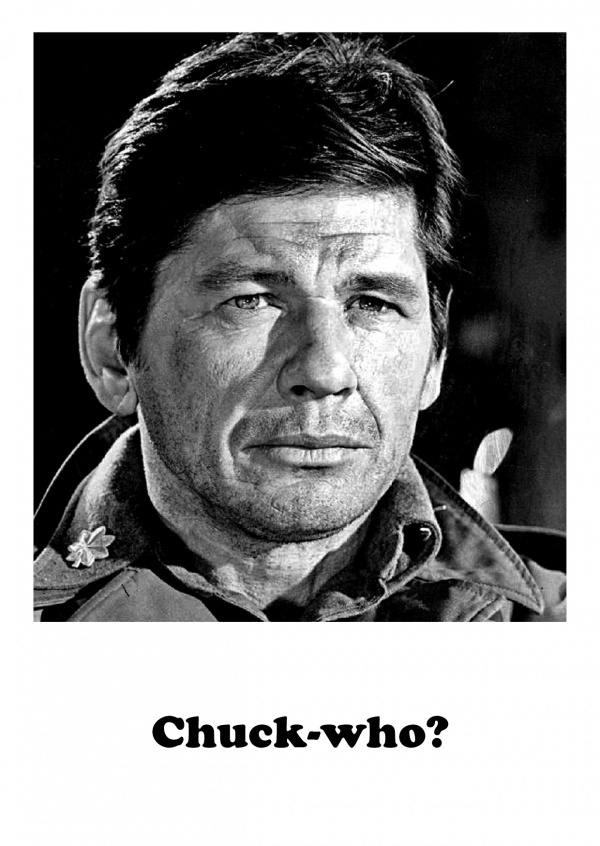 Photo Charles Bronson citation drôle