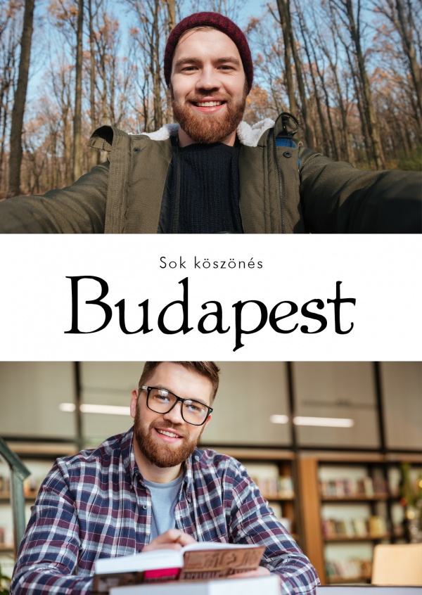 Budapest greetings in Hungarian