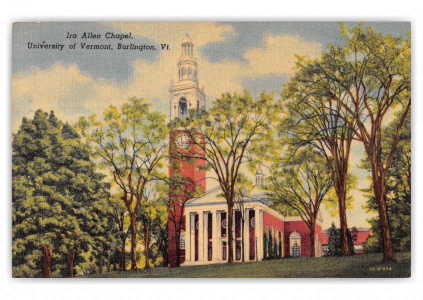 Burlington, Vermont, Ira Allen Chapel, University of Vermont
