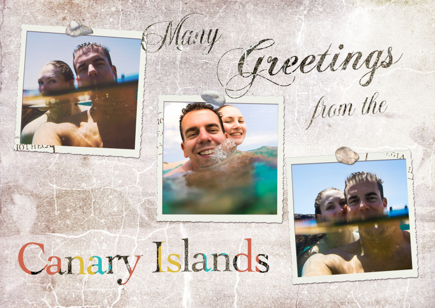 Many greetings from the Canary Islands