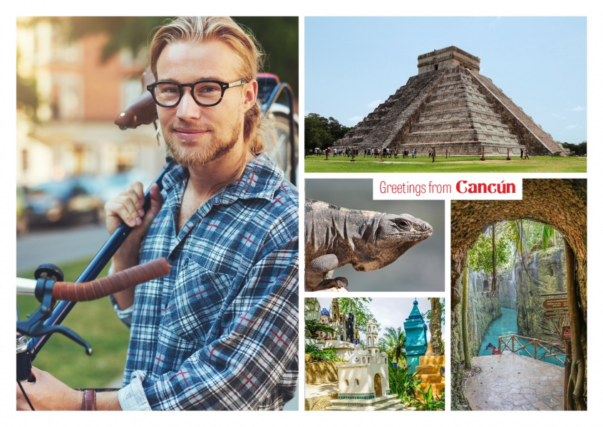 Cancún photocollage