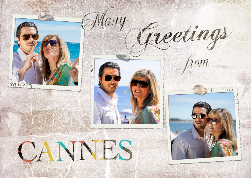 Many greetings from Cannes