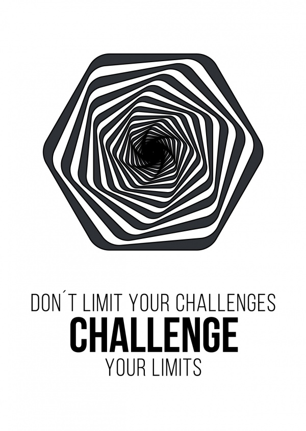 Meridian Design Don't limit your challenges challenge your limits
