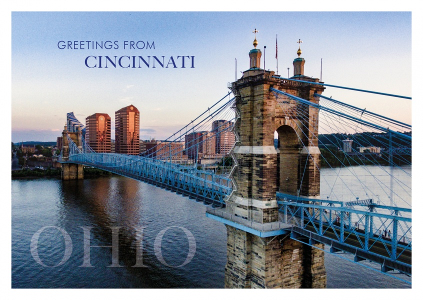 Cincinnati – Roebling Suspension Bridge