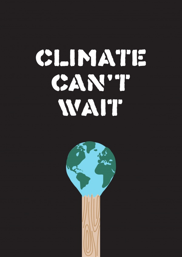 Climate can't wait