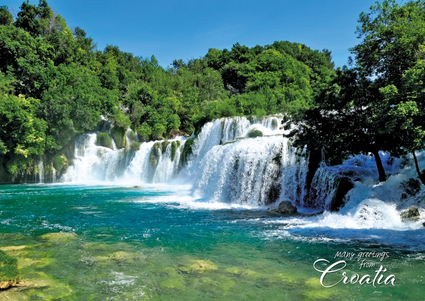 photo Waterfall in Croatia