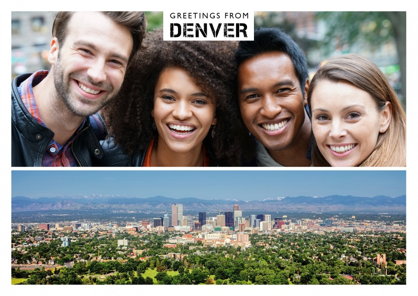photo of denver's skyline