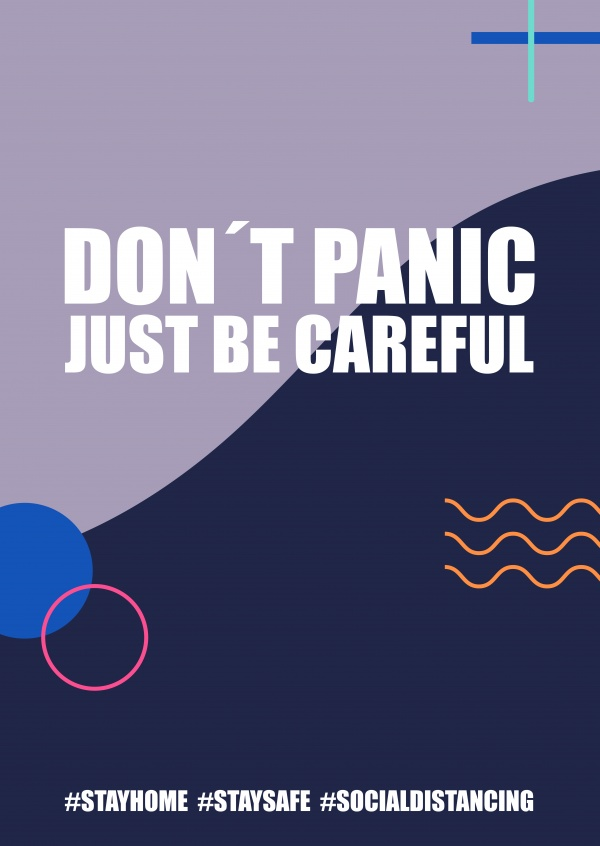 Don't panic just be careful
