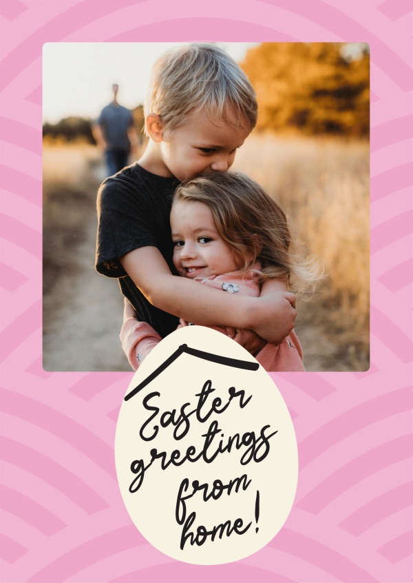 Easter greetings from home