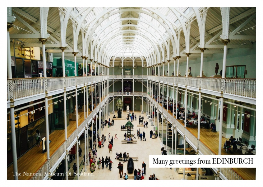 Edinburgh National museum of Scotland