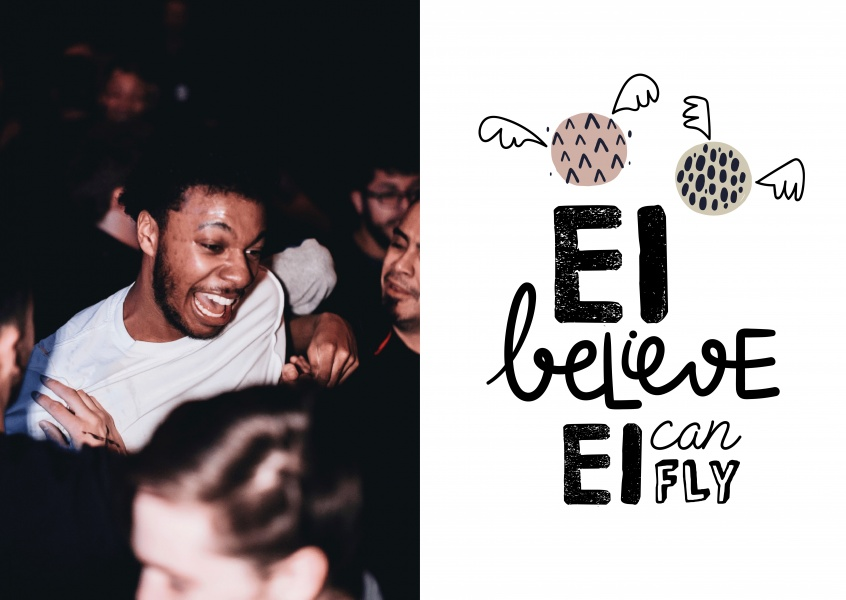 Ei believe ei can fly