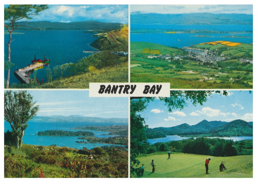 John Hinde photo d'Archive Bantry Bay