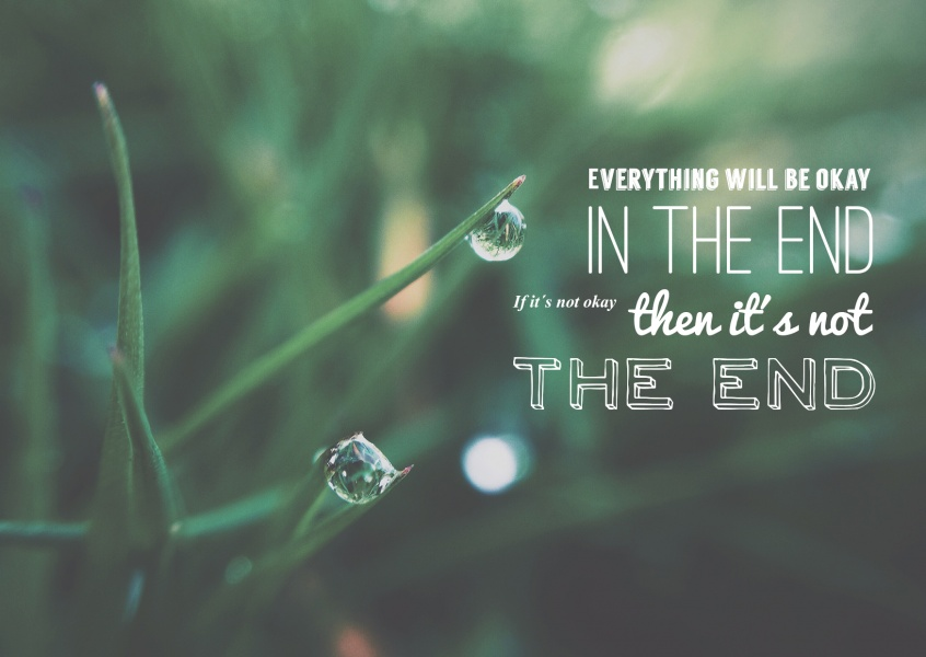 Everything Will Be Okay Statements Quotes Kaarten Echte