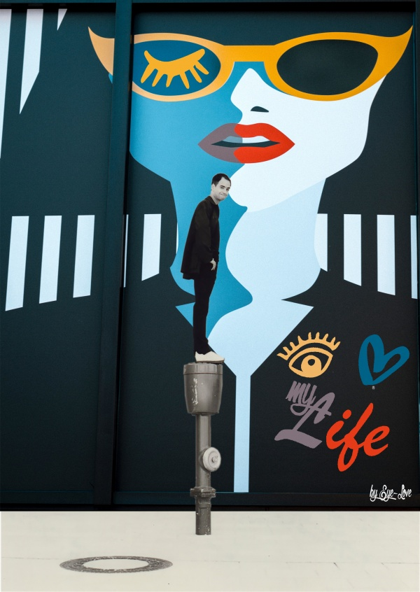 Eye-love my life plakat