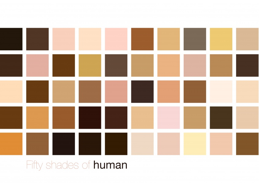 Fifty shades of human