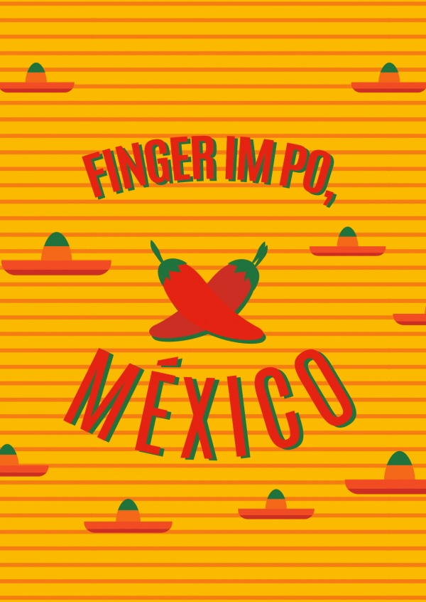 Finger in Po, Mexico