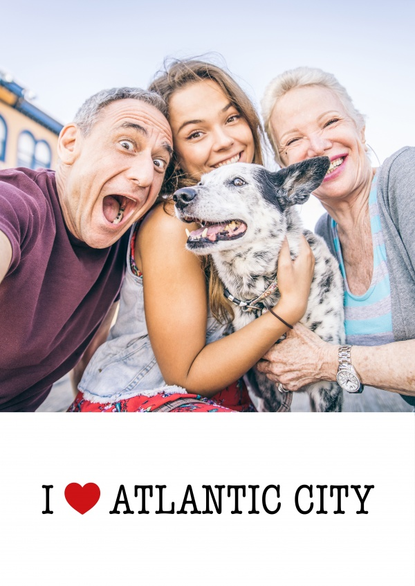 template with I love Atlantic Citysign