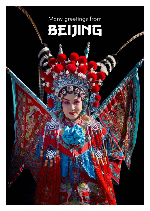 woman in traditional chinese opera dress